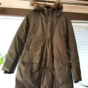 Thyme Maternity Down Filled Winter Parka coat